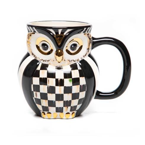 Courtly Owl Mug image