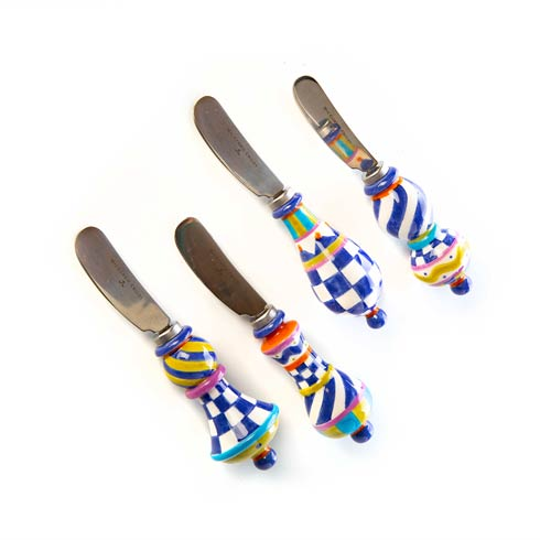 $68.00 Royal Jubilee Canape Knives - Set of 4
