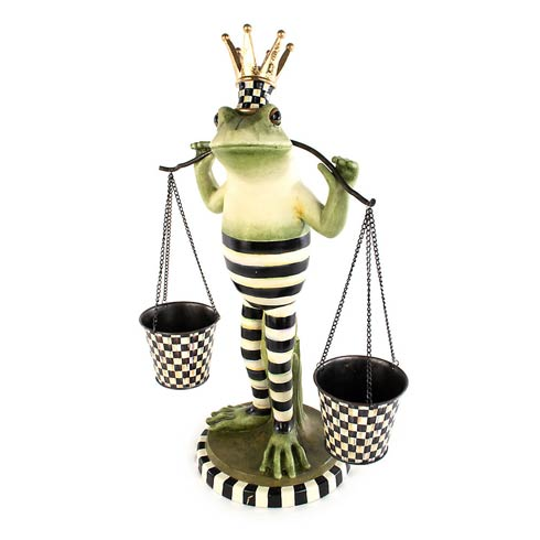 $295.00 Fergal The Frog Double Plant Holder