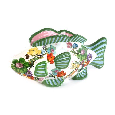 $175.00 Flower Market Fish Planter