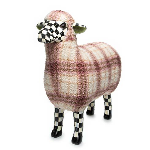 $418.00 Tartan Sheep - Purple
