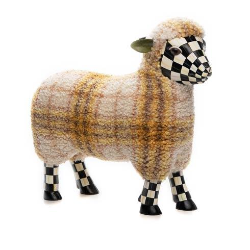 $208.00 Tartan Lamb - Yellow