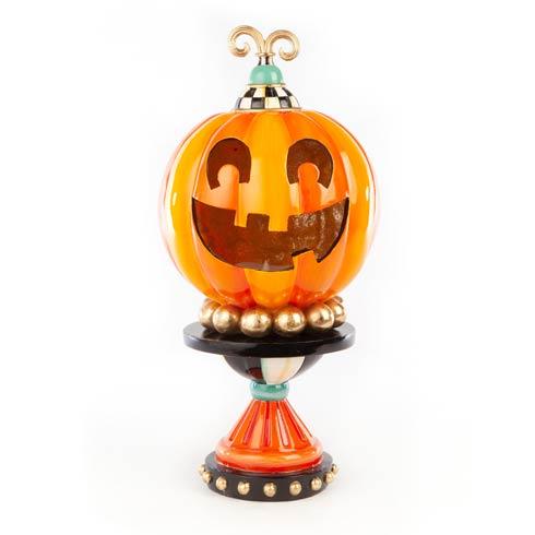 $175.00 Illuminated Happy Pumpkin - Small