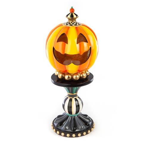 $198.00 Illuminated Happy Pumpkin - Medium