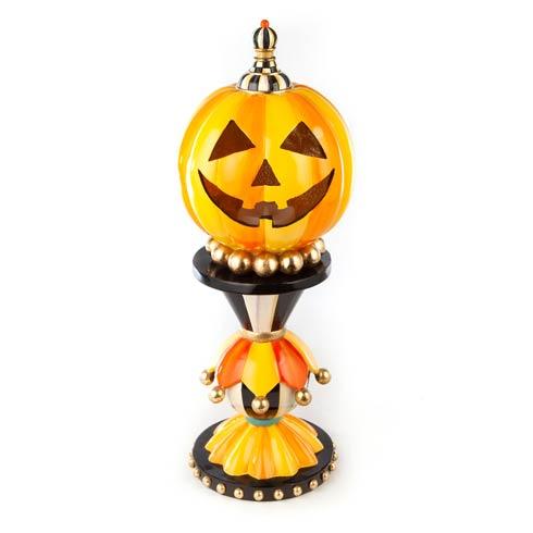 $225.00 Illuminated Happy Pumpkin - Large