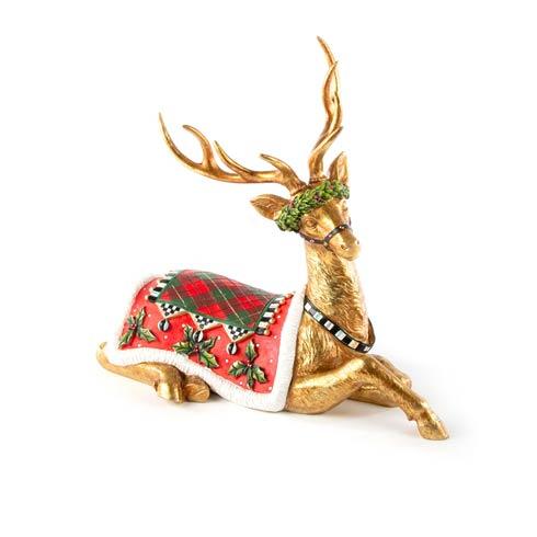 $135.00 Sitting Reindeer