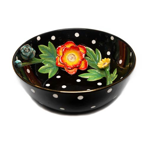 $155.00 Floradot Serving Bowl