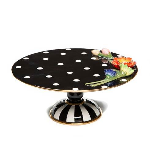 $155.00 Floradot Pedestal Platter