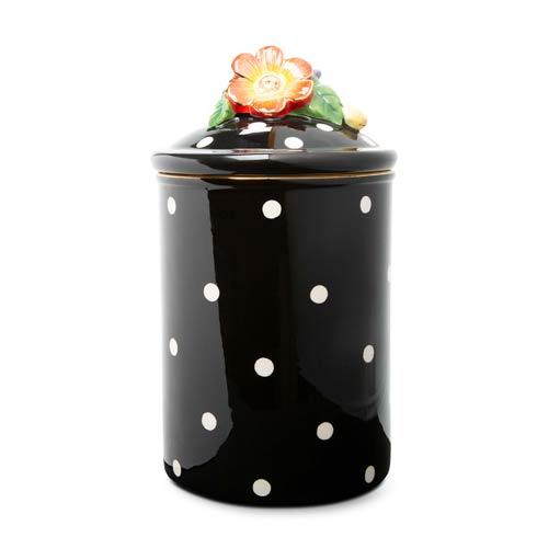 $102.00 Floradot Canister - Large