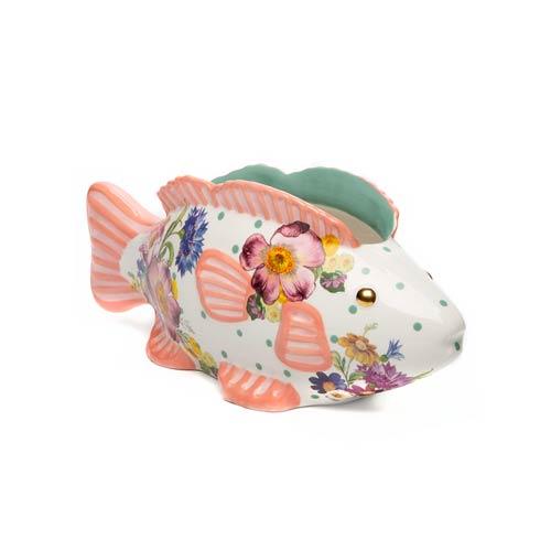 $135.00 Flower Market Fish - Small Planter