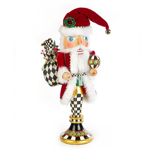 $250.00 Father Christmas Pedestal Nutcracker