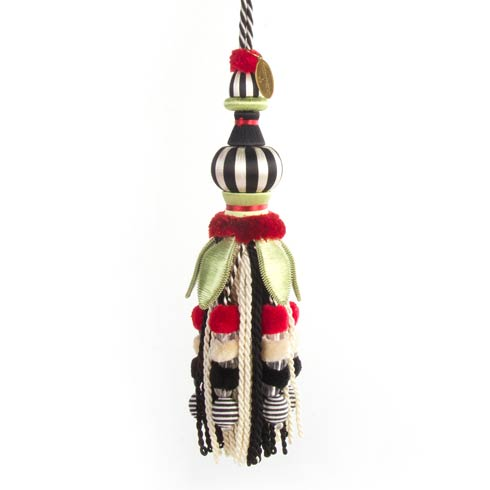 MacKenzie-Childs  Decor Poppy Tassel $58.00
