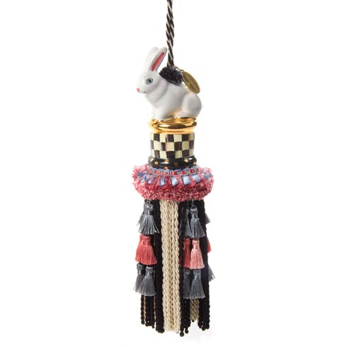 $120.00 Rabbit Tassel - Courtly Check