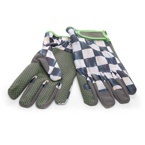 $48.00 Courtly Check Garden Gloves - Medium