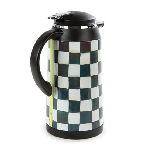 MacKenzie-Childs  Courtly Check Coffee Carafe $98.00