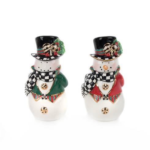 $44.00 Top Hat Snowman Salt & Pepper Set