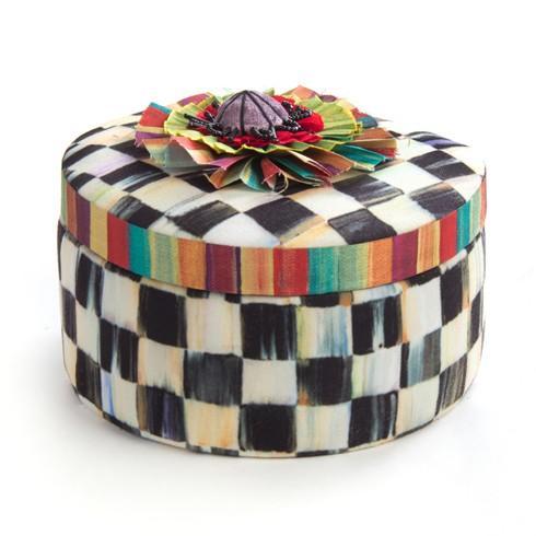 $75.00 Round Jewelry Box