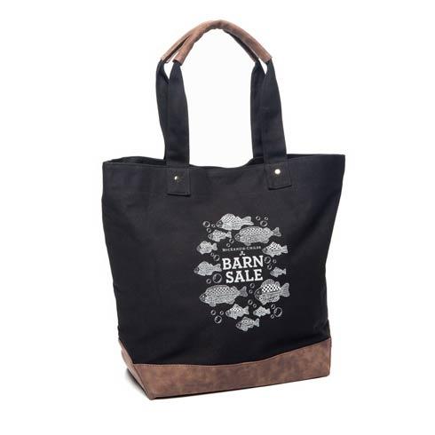 $48.00 Barn Sale Canvas Tote Bag - Black