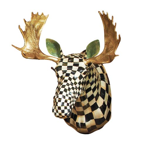 $15,000.00 Courtly Check Moose Head
