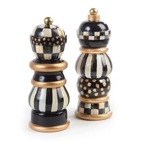MacKenzie-Childs  Courtly Check Salt & Pepper Mill Set - 7 In. $220.00