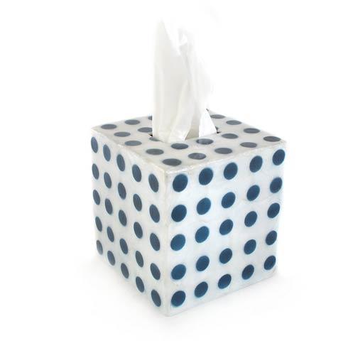 $40.00 Royal Dot Boutique Tissue Box Cover