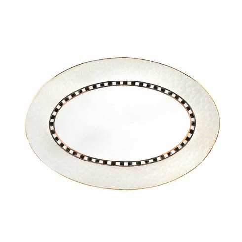 MacKenzie-Childs  Soho Serving Platter - Cloud $198.00
