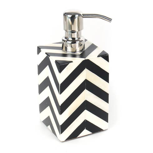 Pump Dispenser - Black & Ivory collection with 1 products