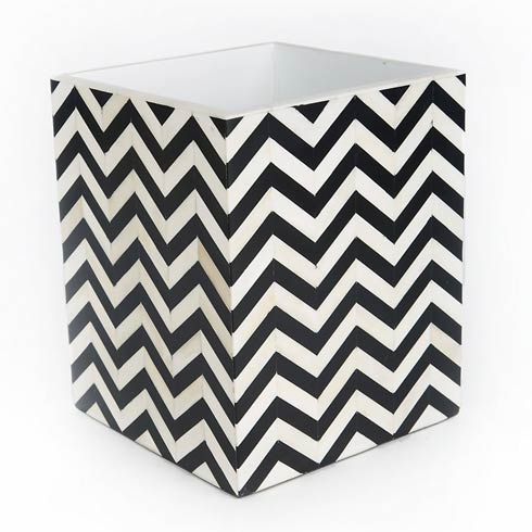 Waste Bin - Black & Ivory collection with 1 products