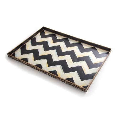 MacKenzie-Childs  Zig Zag Zig Zag Tray - Large $98.00
