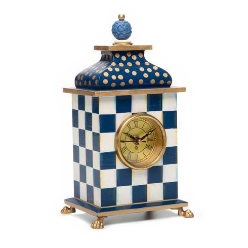 $105.00 Royal Check Desk Clock