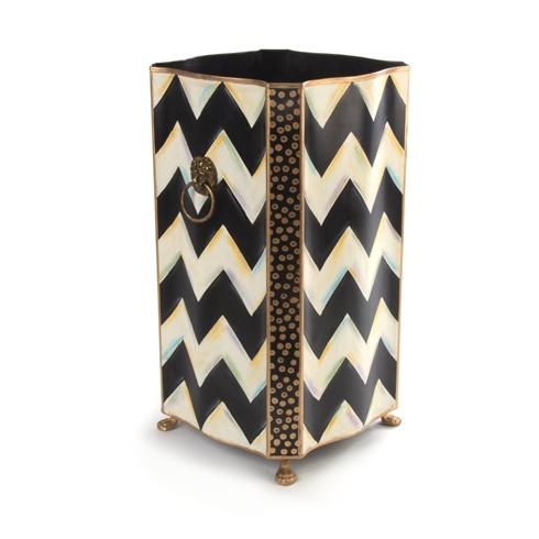 MacKenzie-Childs  Zig Zag Zig Zag Umbrella Stand $130.00
