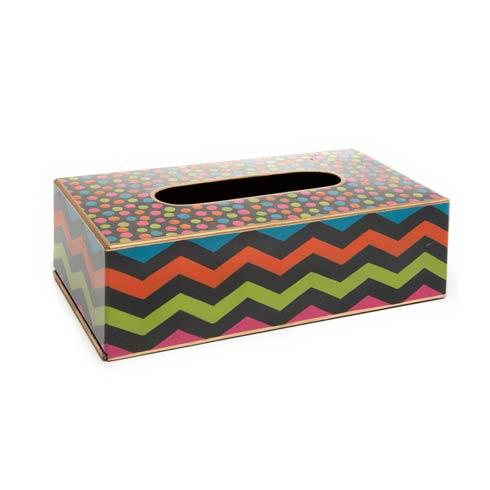 $72.00 Standard Tissue Box Cover - Black