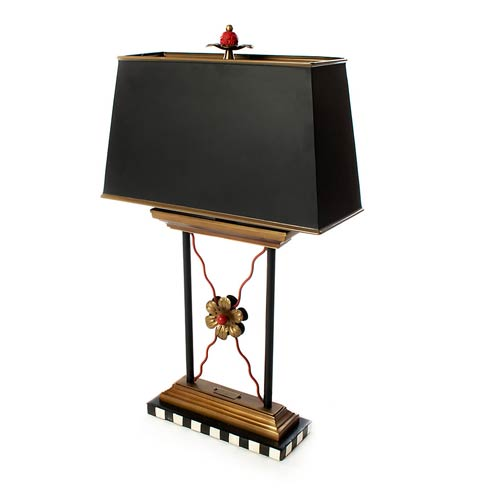 $395.00 Courtly Library Lamp