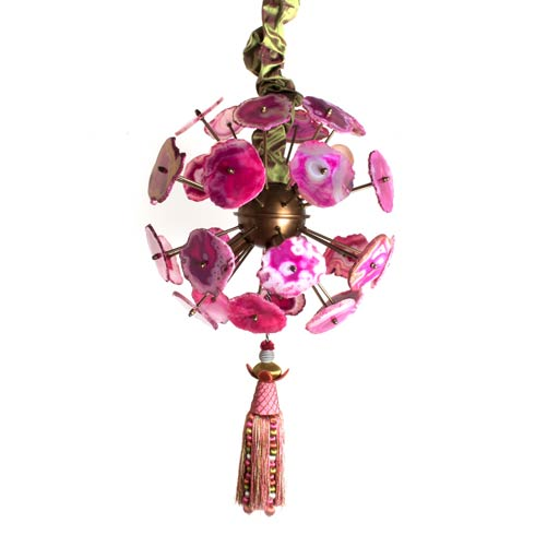 $1,295.00 Agate Burst Chandelier