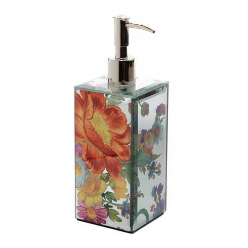 MacKenzie-Childs   Flower Market Reflections Pump Dispenser $50.00