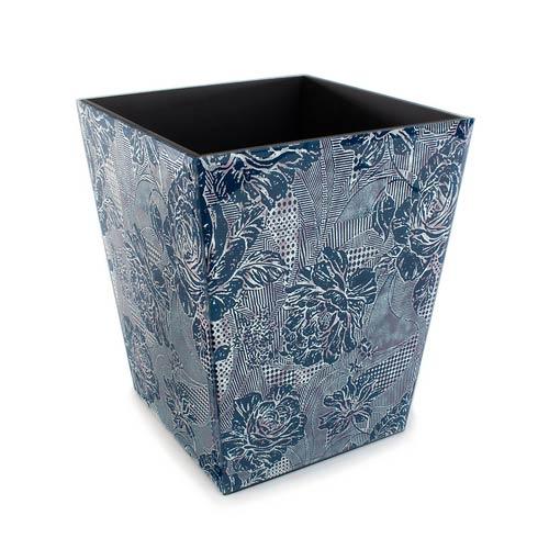 MacKenzie-Childs  Bath Royal Rose Waste Bin $125.00