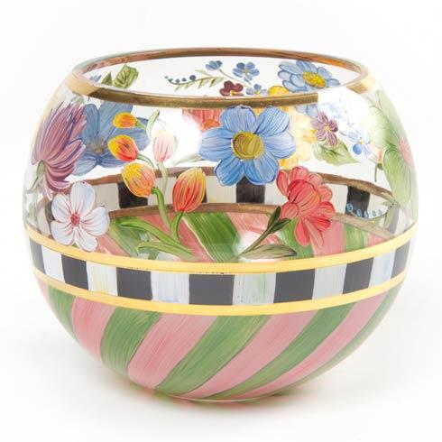 MacKenzie-Childs  Flower Market  Glass Globe Vase - Large $54.00