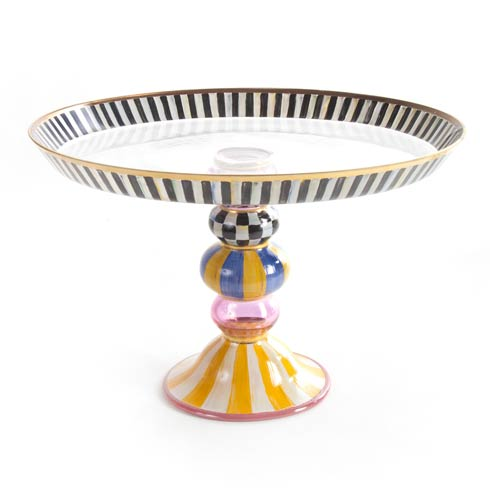$195.00 Striped Awning Cake Stand