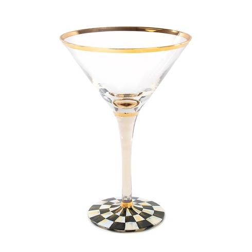 MacKenzie-Childs Courtly Check Tabletop Martini Glass $82.00