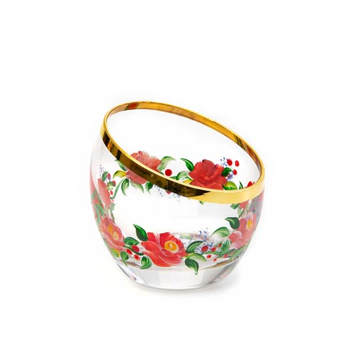 $82.00 Rose Sugar Bowl