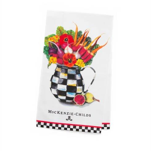 $15.00 Vegetable Bouquet Dish Towel