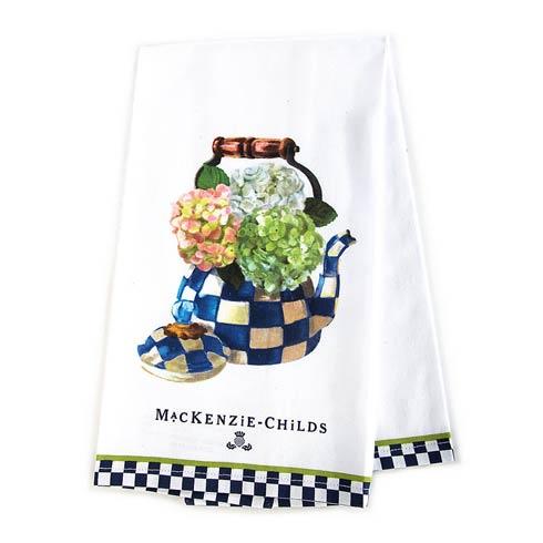 $15.00 Hydrangea Tea Kettle Dish Towel