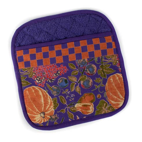 $22.00 Harvest Pumpkin Pot Holder
