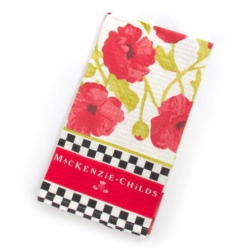 MacKenzie-Childs  Textiles Poppy Dish Towel $15.00