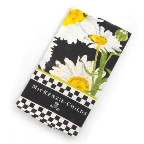 MacKenzie-Childs  Textiles Daisy Dish Towel $15.00