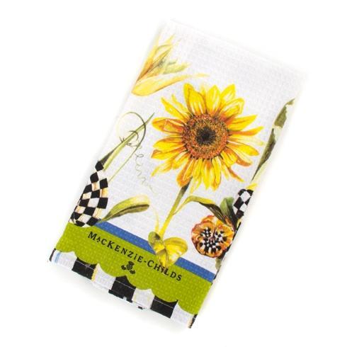 MacKenzie-Childs  Textiles Sunflower Dish Towel $15.00