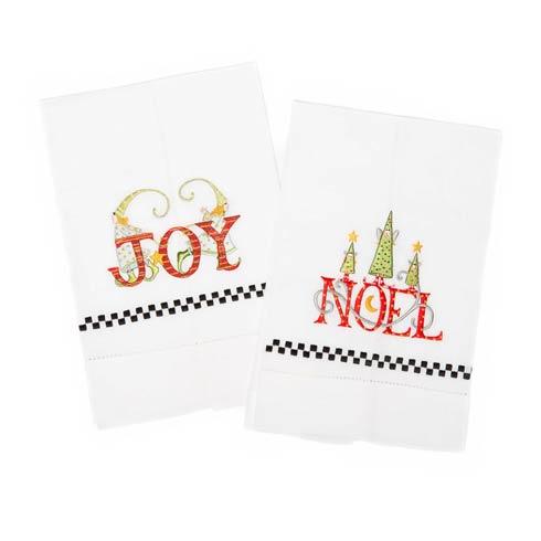 $28.00 Joy & Noel Tea Towels - Set of 2