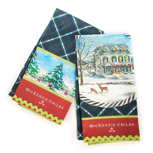 $30.00 Highbanks Dish Towels - Set Of 2