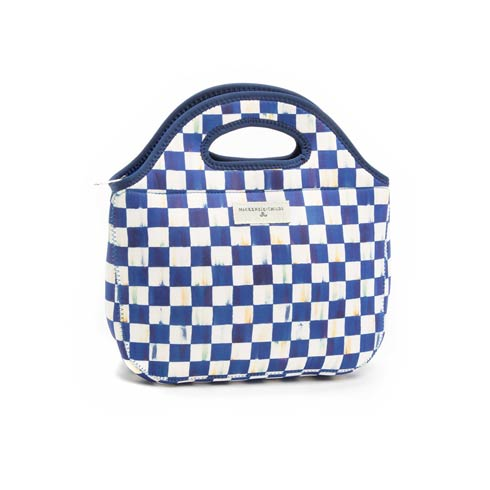 $35.00 Royal Check Lunch Tote
