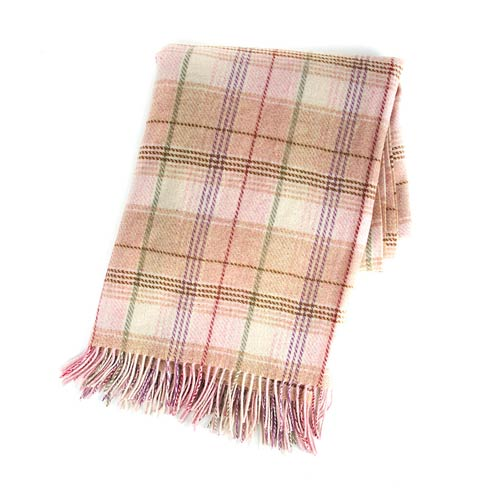 $250.00 Plaid Throw